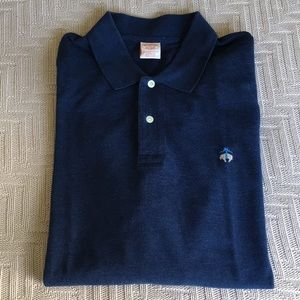 Brooks Brothers navy polo shirt, size XL.